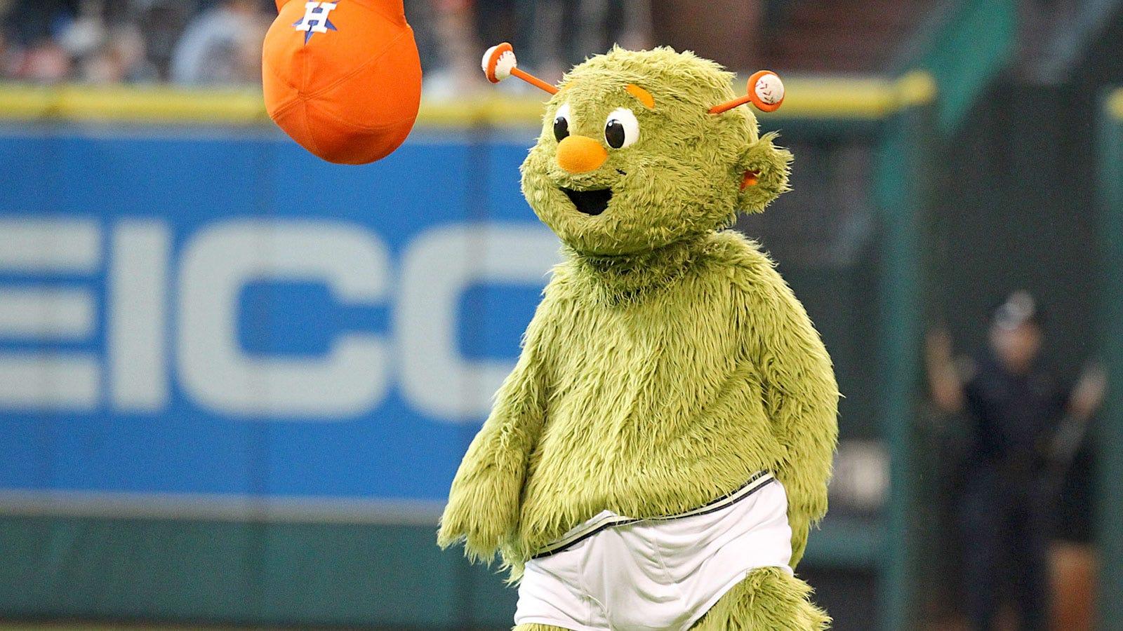 Astros Mascot >> Astros Mascot Orbit Celebrates Birthday With Wacky Antics