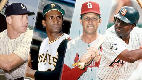 The greatest MLB players to spend their entire career with one team