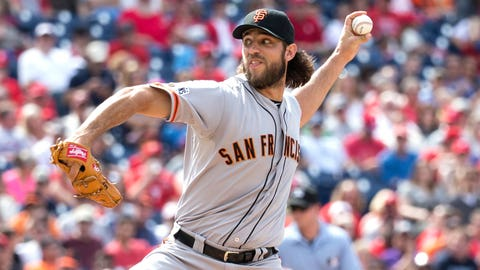 Giants: Madison Bumgarner (1st round, 10th pick, 2007)
