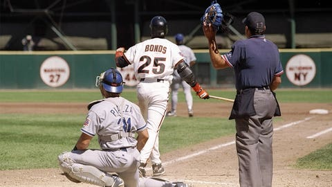 4. Any mention of that cheater Barry Bonds