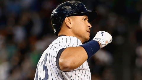 June 19: A-Rod collects his 3,000th hit