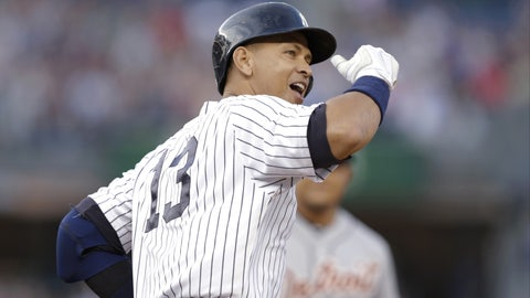June 19 -- A-Rod gets hit No. 3,000 as part of a surprising comeback