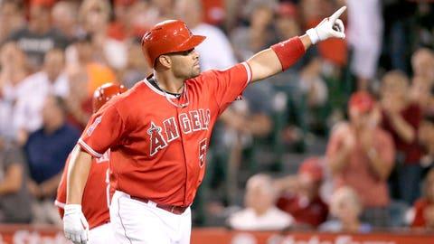 6. Albert Pujols, 1B, Los Angeles Angels (.255, 26 HR, 56 RBI)