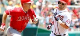 Harper amazed by Trout's skills: 'Trout can run, bro'
