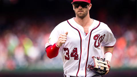 Outfield: Bryce Harper - Nationals