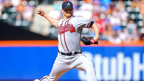 Honorable mention: Shelby Miller, SP, Atlanta Braves (5-5, 2.38 ERA, 95 SO, 1.15 WHIP)