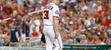 Nationals' Max Scherzer says he's unfazed after being lit up by Reds