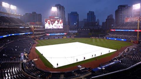 May 14 - Padres win rain-delayed game