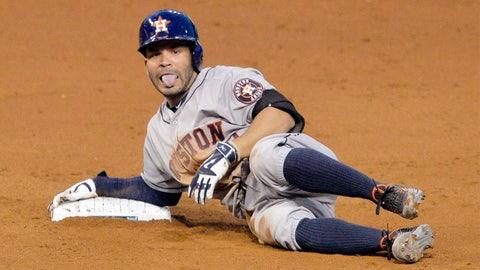 15. Jose Altuve, 2B, Houston Astros (.293, 8 HR, 25 SB, 98 H)