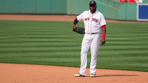 July 5: David Ortiz starts at first base at Fenway for first time since 2006.