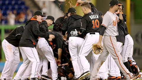 High: Jennings notches first managerial win, pool celebration (5/23)