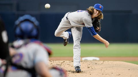 High: DeGrom is nearly perfect (6/1)