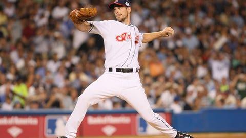 AL uses 12 pitchers, teams combine for 34 K's (2008)