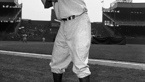Willie Jones enters batters' box seven times (1950)