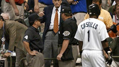 The tie game: July 9, 2002, at Miller Park in Milwaukee