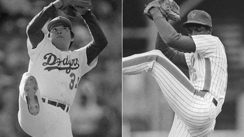 Fernando and Doc set a record: July 10, 1984, at Candlestick Park in San Francisco