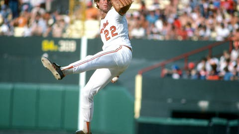 Jim Palmer gets touched up (1977, '78)