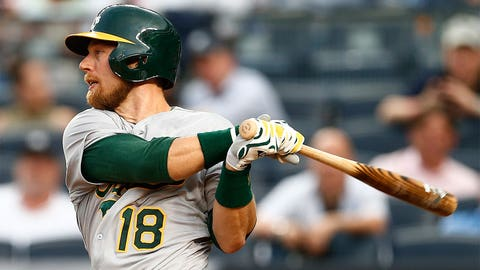 Ben Zobrist, IF/OF, A's