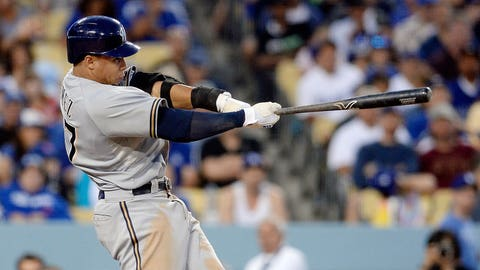 Carlos Gomez, OF, Brewers