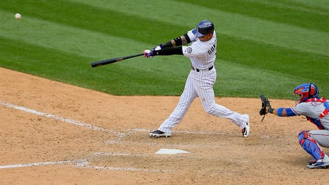 Carlos Gonzalez, OF, Rockies