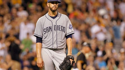 James Shields, SP, Padres