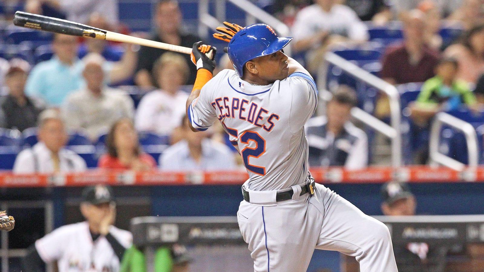 official photos 6a08d 665e1 New York Mets' Yoenis Cespedes can be NL MVP | FOX Sports