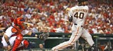 Giants top Cards thanks in large part to Bumgarner … and his bat