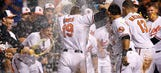 O's Davis crushes 2 HRs, including walk-off in 11th vs. Rays