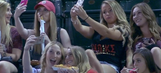 WATCH: Announcers hilariously dissect sorority 'selfie time' at D-backs-Rockies game