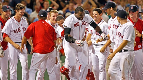 Aug. 26, 2009: Ortiz makes walk-off history