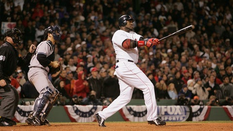 2004 ALCS, Game 4: Ortiz resuscitates the Red Sox