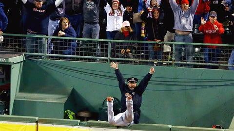 2013 ALCS, Game 2: Ortiz provides grand drama