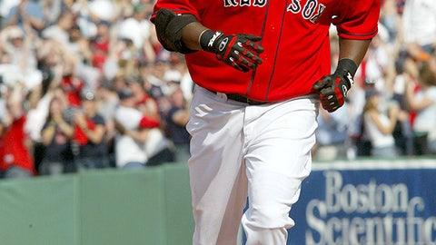 June 2, 2005: Ortiz commits lefty-on-lefty crime