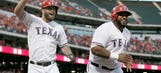 Fielder hits 2 HRs, Rangers rout Astros to stretch AL West lead