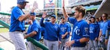 Royals' Morales hits three homers, sets team record in win over Tigers
