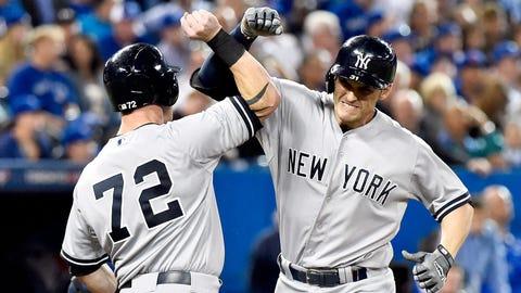 Greg Bird, 1B, Yankees