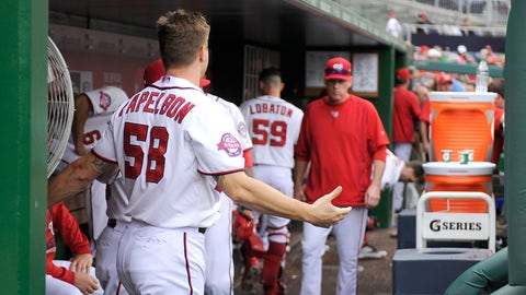 Low: Handling of Papelbon-Harper fight (Sept. 27, 2015)