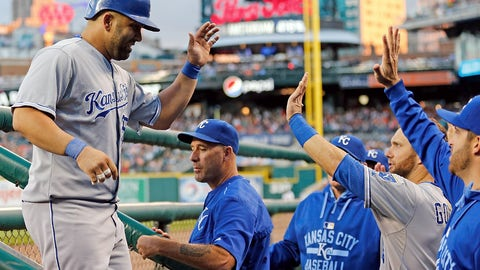 Royals: The offense is improved
