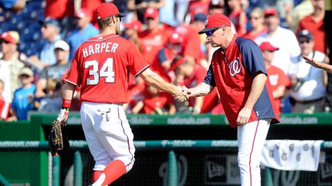 High: Williams sets the tone with young star Harper (April 19, 2014)