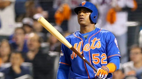 Aug. 1-Oct. 4 -- Yoenis Cespedes boosts Mets to second-half surge