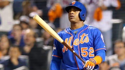 Aug. 1-Oct. 4 -- Yoenis Cespedes boosts Mets to second-half surge