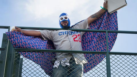 It's party time at Wrigley Field
