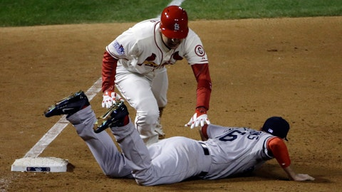 2013 World Series: Walk-off obstruction call