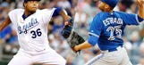 Live: Kansas City Royals face Toronto Blue Jays in ALCS Game 1