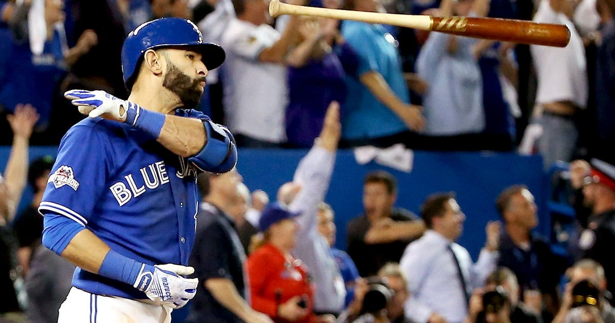 This year's must-have holiday gift: Bautista bat flip sweater | FOX ...