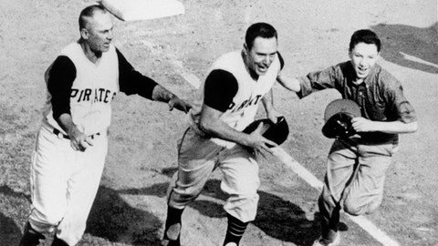 Bill Mazeroski. Pittsburgh Pirates vs. New York Yankees, Game 7, 1960: