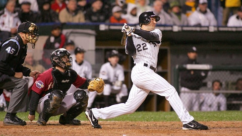 Scott Podsednik. Chicago White Sox vs. Houston Astros, Game 2, 2005: