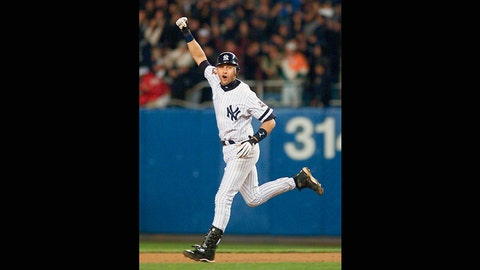Derek Jeter. New York Yankees vs. Arizona Diamondbacks, Game 4, 2001: