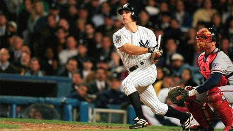 Chad Curtis. New York Yankees vs. Atlanta Braves, Game 3, 1999: