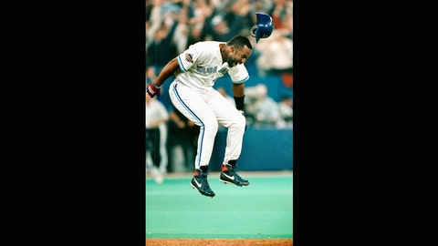Joe Carter. Toronto Blue Jays vs. Philadelphia Phillies, Game 6, 1993: